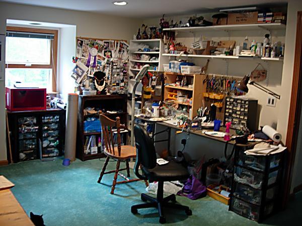 Artist S Studio Christy Sherman Skygrazer Designs