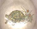 turtle image transfer votive