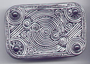 Silver Balinese Filigree Tin Top.